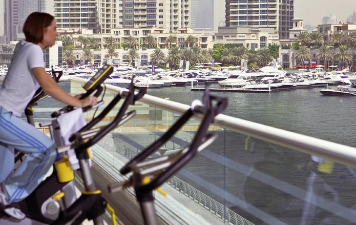 Dusit Residence Dubai Marina gym