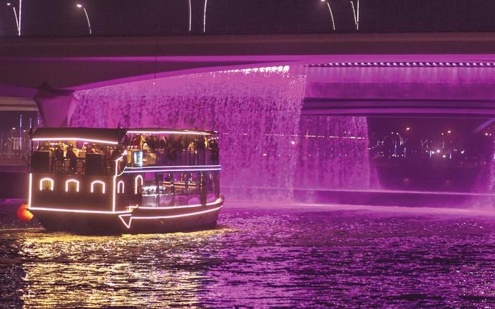 Buffet Cruise - Dubai Water Canal