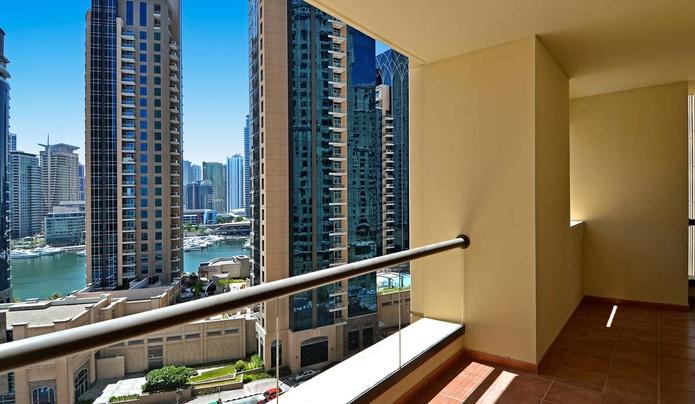 Two-Bedroom Apartment balcony