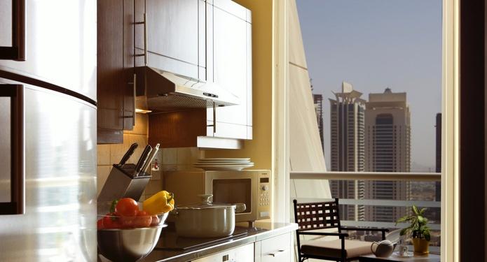 Dusit Residence Dubai Marina kitchen