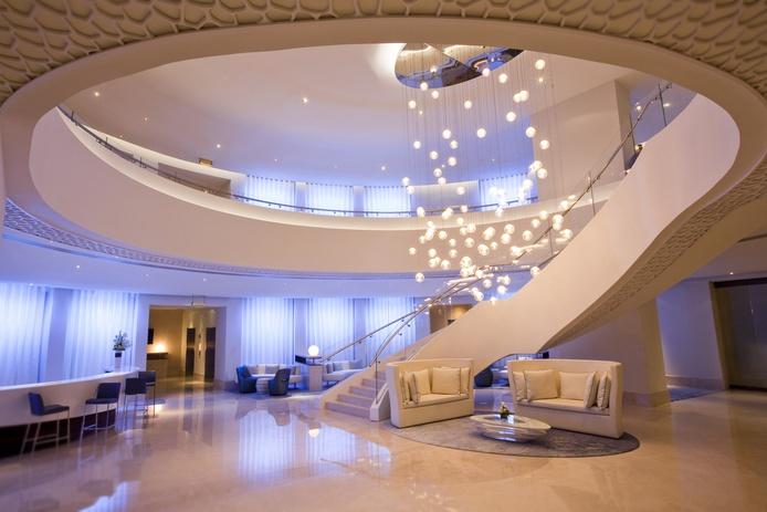 JA Ocean View Hotel lobby
