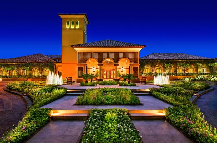 The Ritz-Carlton Dubai entrance