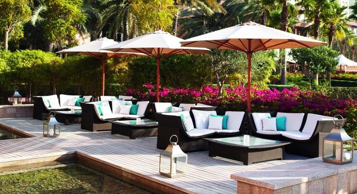 The Ritz-Carlton Dubai garden chairs