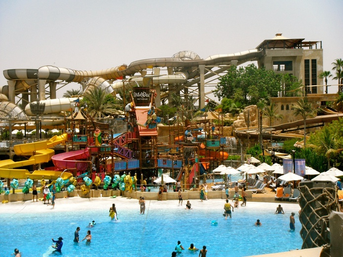 Wild Wadi Water Park pool