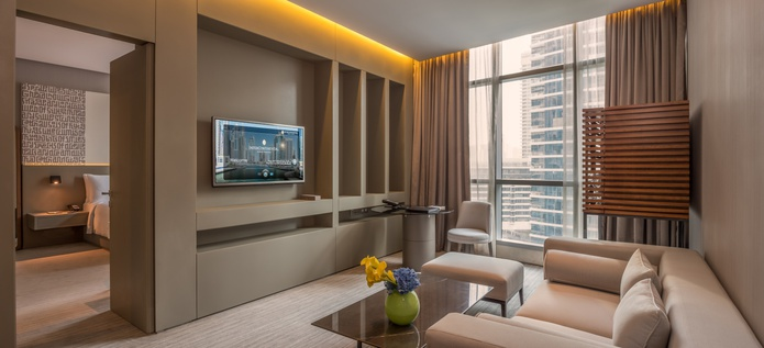 InterContinental Dubai Marina Bedroom Suite
