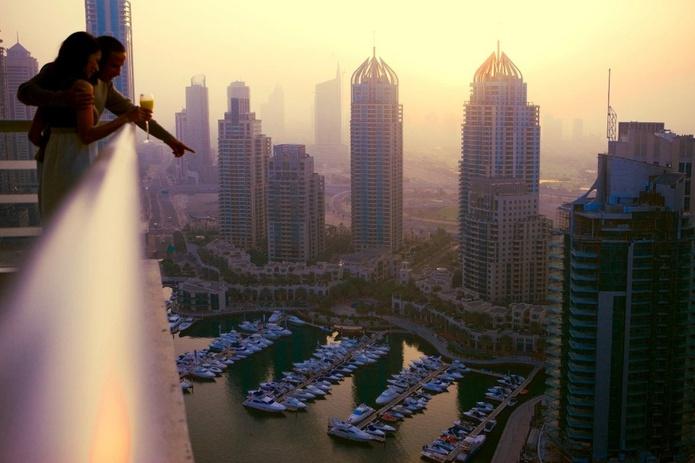 Dubai Residence Balcony