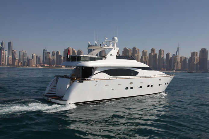 Rent a private yacht in Dubai