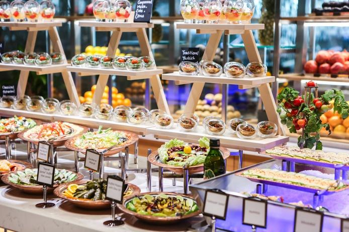 Rixos Premium Dubai buffet