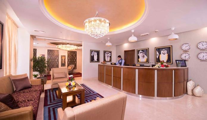 Amwaj Suites check in