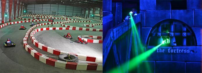 Dubai Autodrome karting