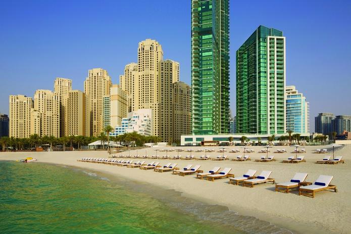 DoubleTree by Hilton Hotel Dubai - Jumeirah Beach building