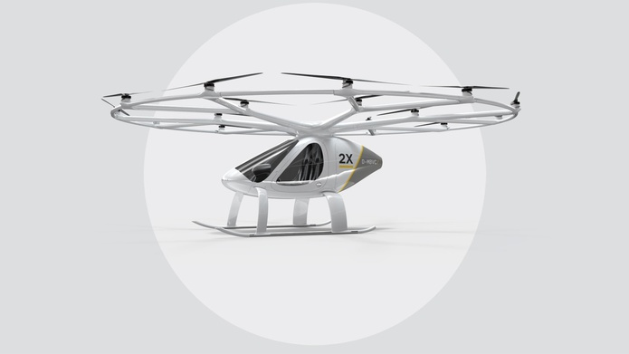 Volocopter 2x model