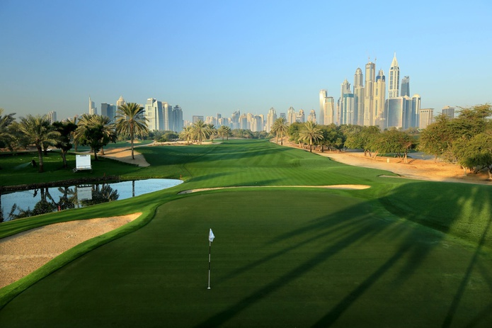 Emirates Golf Club 72-par course
