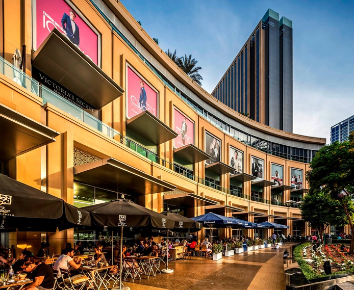 Dubai Marina Mall restaurants