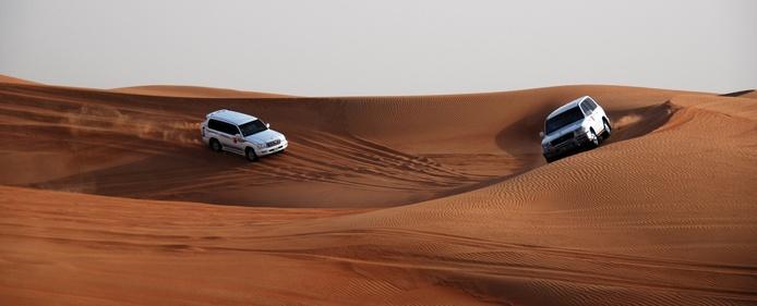 Dubai Desert 4x4 Ride photo by Robert Young