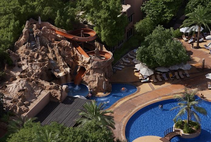 Habtoor Grand Beach Resort pools
