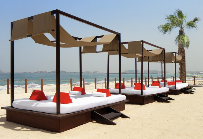 Sheraton Jumeirah Beach Resort beach area