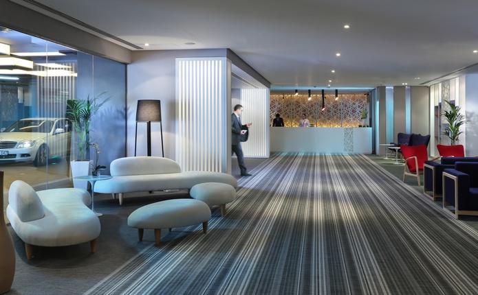Hawthorn Suites by Wyndham Dubai lobby