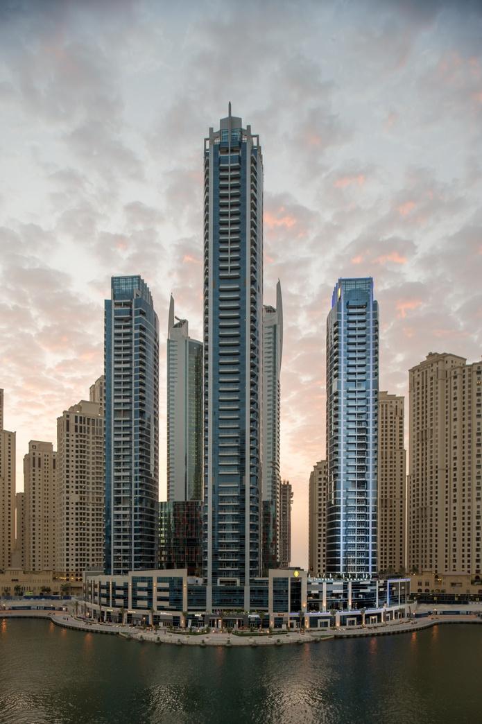 InterContinental Dubai Marina skyscrapert