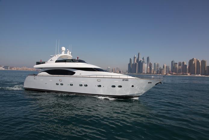 78ft Maiora yacht