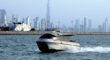Water Taxi Rides in Dubai