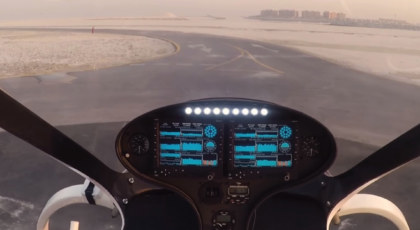 Flying taxis in Dubai
