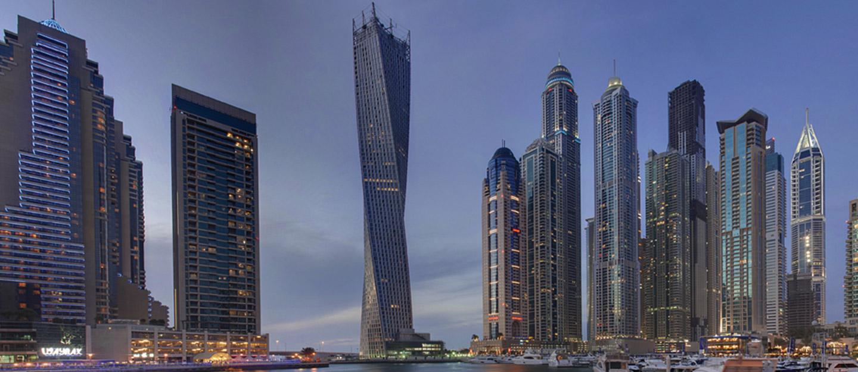 The 11 Tallest Buildings in Dubai Marina