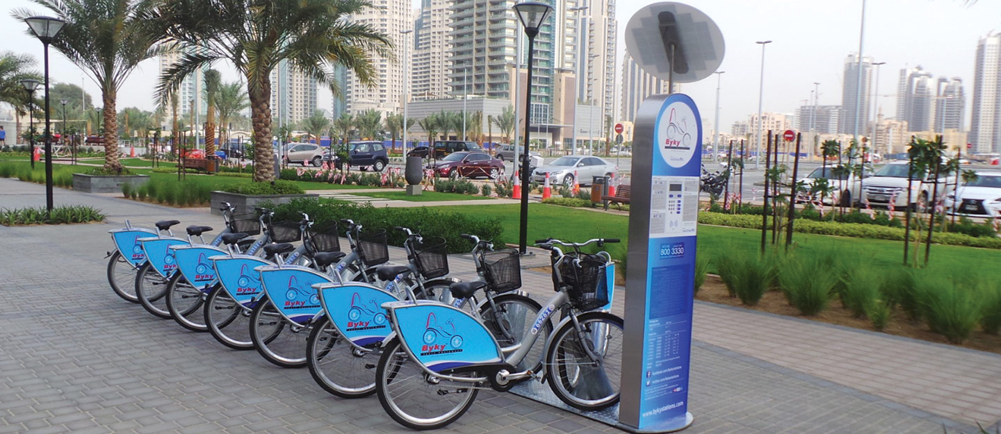 Biking Around Dubai